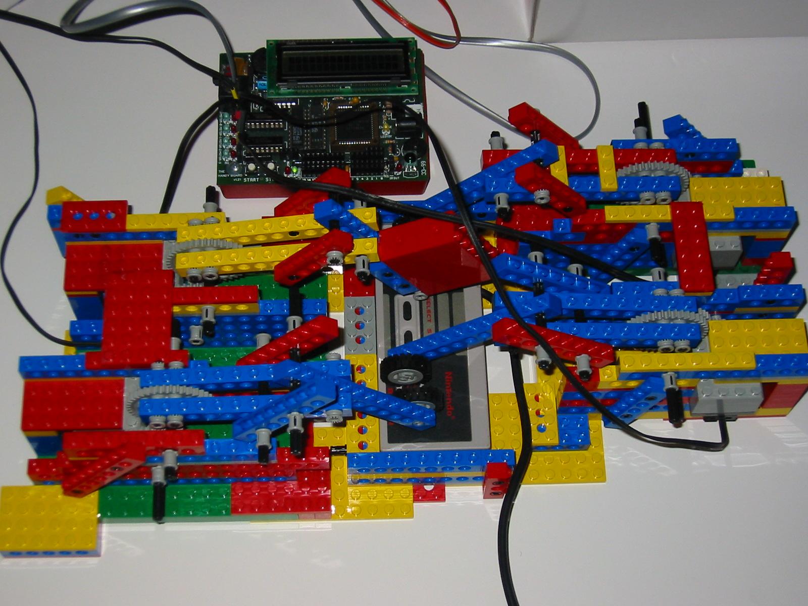 Lego Robot Plays Mario Wonderland